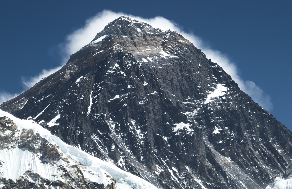 A Mount Everest a Kala Patthar csúcsról